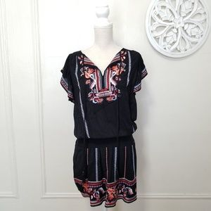 Parker size M embroidery dress